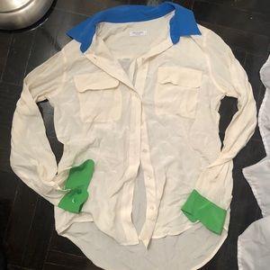 Equipment femme small blouse